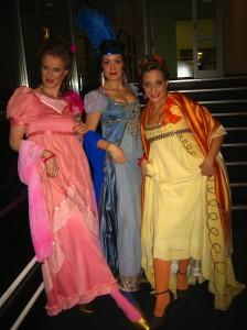 """""""Theatralisches Abentheuer"""": Merlina, Isabella, Rosalba"""